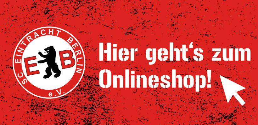 Banner zum Fan-Shop des SCE Berlin